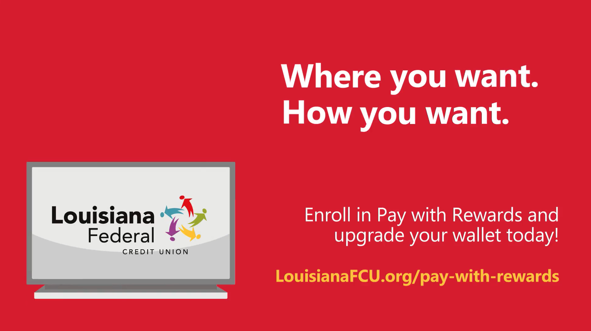 Enroll in Pay with Rewards