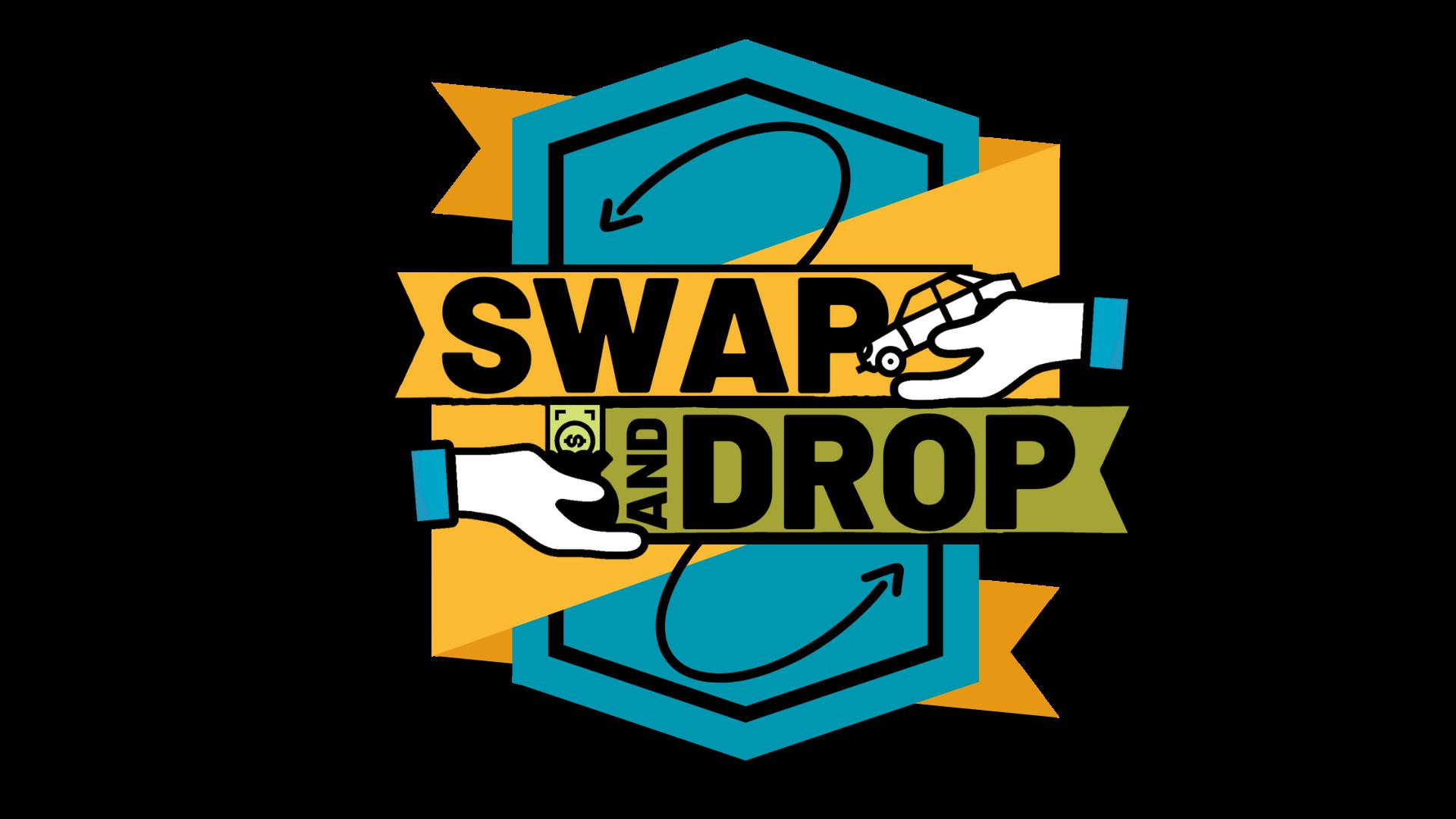 Swap & Drop Crest Logo 2020