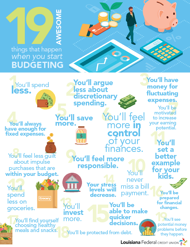 Infographic_19 awesome things that happen when you start budgeting