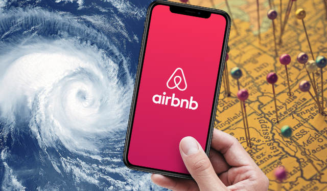 hurricane airbnb evacuation stay