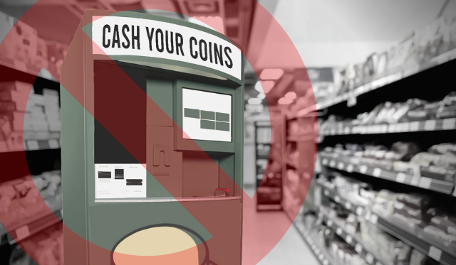 Are coin-counting machines a ripoff?