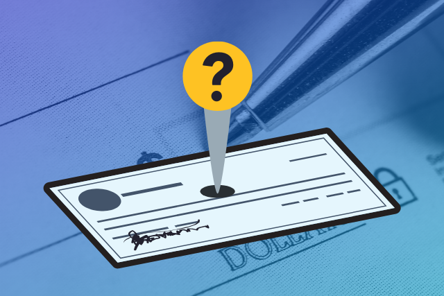 Quick take: The pros and cons of writing checks