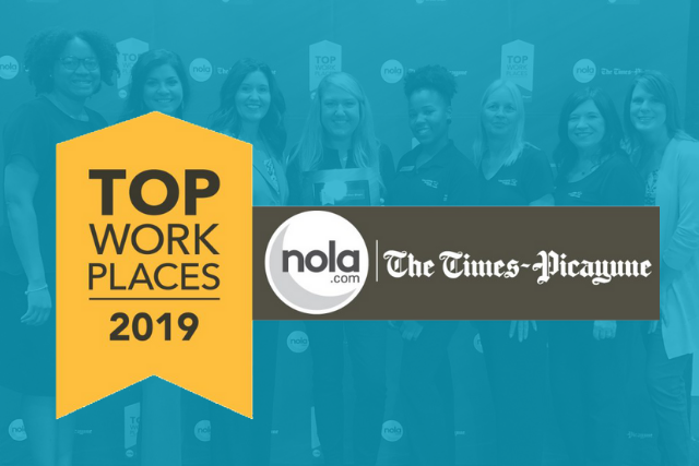 Louisiana FCU named one of the Top Workplaces in the Greater New Orleans Area